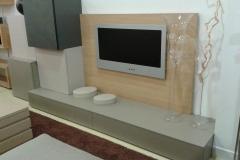 Mueble salón roble-laca