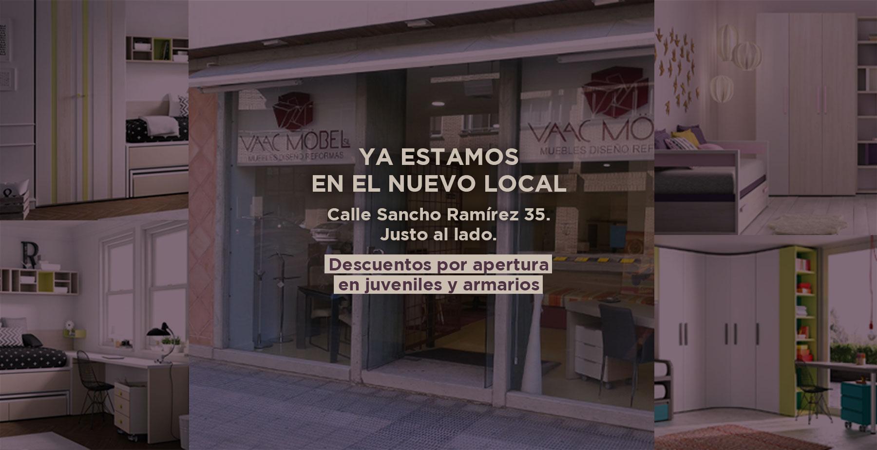 Vaac Mobel Tienda decoración muebles Pamplona